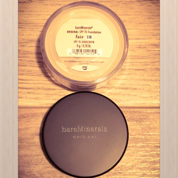 bareMinerals Other - 💄 Bare Minerals Original Fair C10 New 8g Sealed